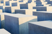 Holocaust memorial in Berlin — Stock Photo