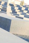мемориал жертвам холокоста в берлине — Стоковое фото