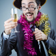 Magiciin business suit — Stock Photo #10453282