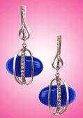 концепция ювелирные изделия с ницца серьги — Стоковое фото