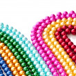 Abstract with colourful pearl necklaces — Stock Photo #7968675