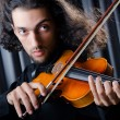 Young violin player playing — Stock Photo #7968770