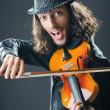 Fiddler playing the violin — Stock Photo #7968779