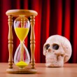 Death and time concept — Stock Photo