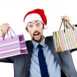 Stock Photo: Christmas concept with shopping bag