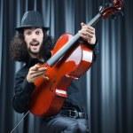 Man playing the cello — Stock Photo #7969307