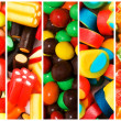 Collage of various sweets — Stock Photo #7969328