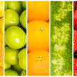Set of various fruit and vegetables — Stock Photo #7969330