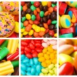 Collage of various sweets — Stock Photo #7969346