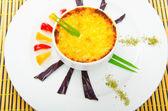 French cuisine - Mushroom en cocotte — Stock Photo