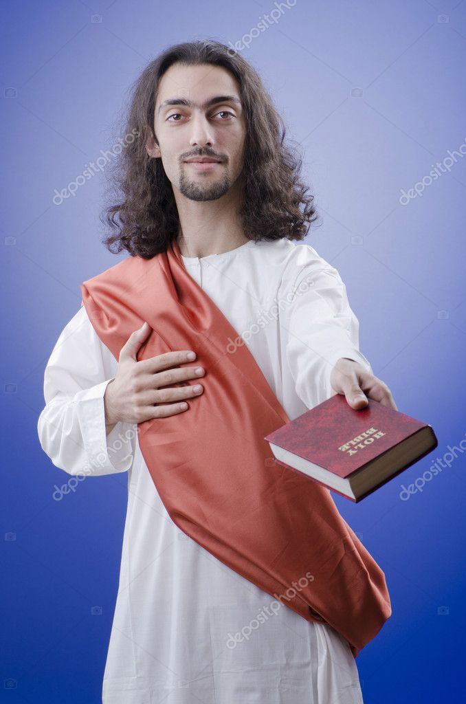 Personification of Jesus Christ — Stock Photo #7968798
