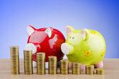 Piggy bank biznes koncepcja — Zdjęcie stockowe