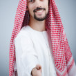 Portrait of young arab - Stock Photo