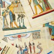Egyptian history concept with papyrus — Foto de Stock