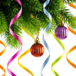 Christmas decoration on the white — Foto de stock #8126177