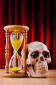 Conceito de morte e do tempo — Fotografia Stock