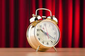 Alarm clocks in time concept — Stock Photo