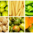Set of various fruit and vegetables — Stock Photo #8744758