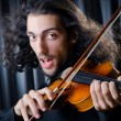Young violin player playing — Stock Photo #8751561