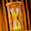 Time concept with hour glass — Stock Photo #8755234