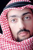 Uomo in abiti arabi — Foto Stock