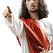 Jesus Christ personifacation isolated on the white — Stock Photo #8768412