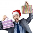 Christmas concept with shopping bag — Stock Photo #9094614