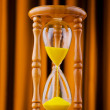 Time concept with hourglass — Stock Photo