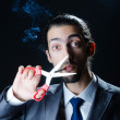 No smoking concept with cigarette — Stock Photo #9099344