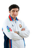 FIDE Grand Master Vugar Gashimov (World Rank - 12) from Azerbaij — Stock Photo