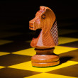 Chess concept with various pieces — Stock Photo #9176771