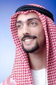 Man in arab clothing — Stock Photo