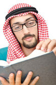 Education concept with young arab — Stock Photo