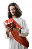 Jesus Christ personifacation isolated on the white — Stock Photo