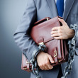 Arrested businessmin crime concept — Stock Photo #9181390