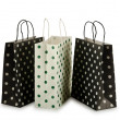 Shopping bag isolated on the white — Stock Photo #9181994