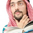 Education concept with young arab — Stock Photo #9288024