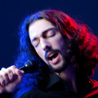 Man singing at the concert — Stock Photo #9288199