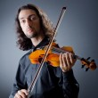 Violin player playing the intstrument — Stockfoto #9289252