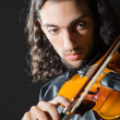 Fiddler playing the violin — Stockfoto #9289269