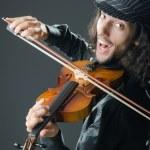 violinista tocando el violín — Foto de Stock   #9289277
