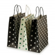 Shopping bag isolated on the white — Stockfoto