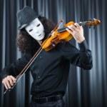Man playing the cello — Stock Photo #9371902
