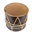 Azeri traditional drum nagara on white — Stock Photo
