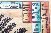Egyptian papyrus as a background — Stock Photo