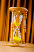 Time concept with hour glass — Stock Photo