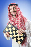 Chess player playing his game — Foto de Stock
