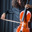 Man playing the cello - ストック写真