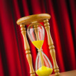 Hour glass in time concept — Stock Photo #9469226