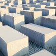 Holocaust memorial in Berlin — Stock fotografie